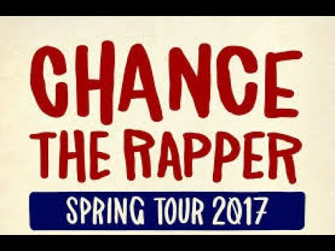 Chance The Rapper Be Encouraged Tour 5/19/2017