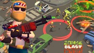 Zombie Blast Crew - Gameplay Walkthrough Part 11 - Elite Zombies Blast Off ( ios, Android)
