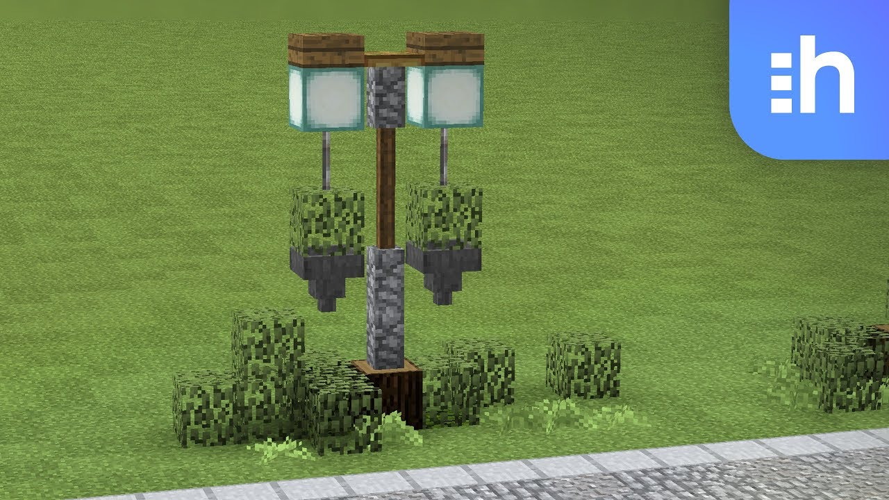 Minecraft Lamp Posts with Hanging Baskets! Automatic ...