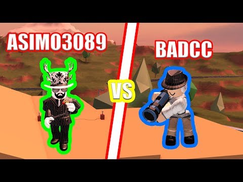 Running From The Campers Asimo3089 And Badcc Running In - asimo3089 hacks jailbreak train roblox jailbreak youtube