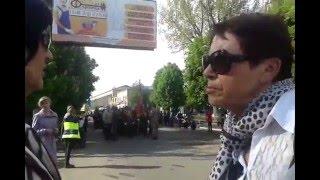 9 мая 2016 Котовск - Парад Комуны в Украине(Слов нет, это называется