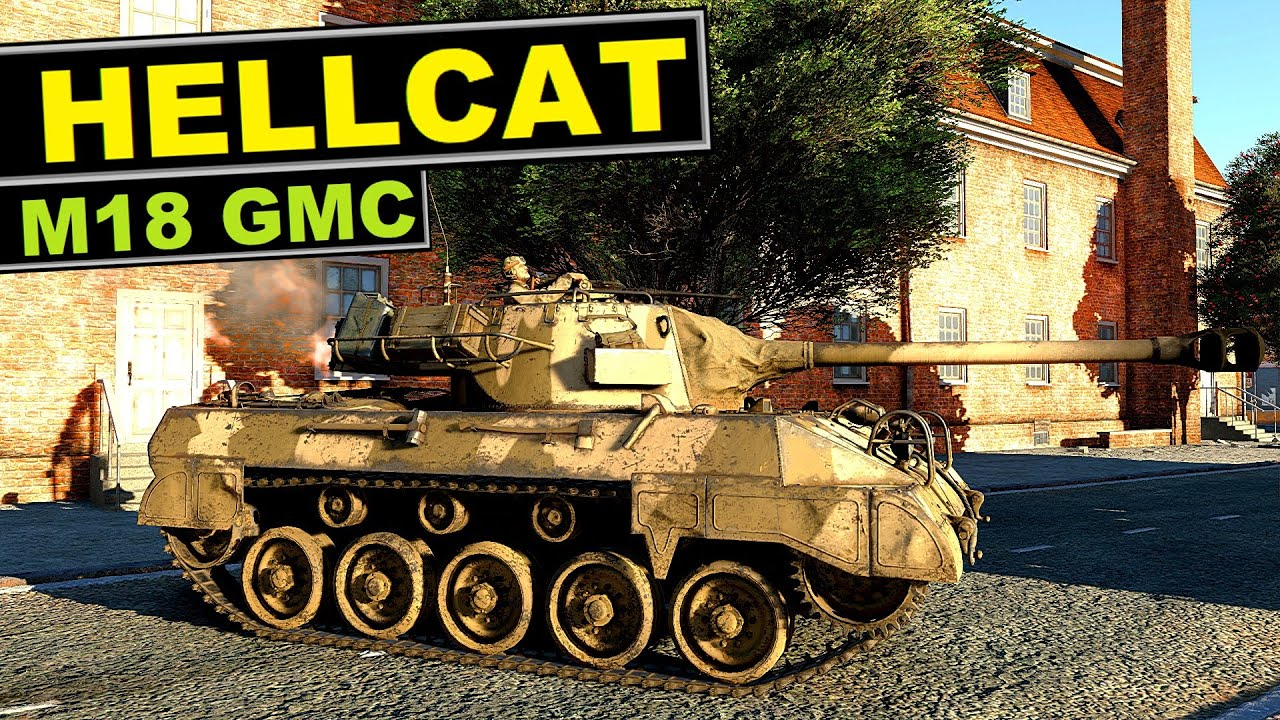 """Download ▶️ M18 """"Hellcat"""" - Why everyone plays  (and likes) it?  [War Thunder review]"""