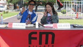 FM新潟ミノルクリスステッカーキャンペーン 長岡市