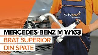 Cum se inlocuiesc braț superior din spate pe MERCEDES-BENZ M W163 TUTORIAL   AUTODOC