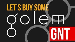 time to buy some golem gnt crypto coins