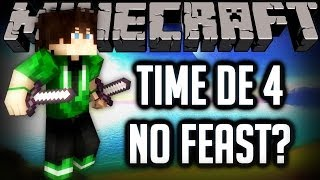 TIME COM INSCRITO + PVPS FRENETICOS - HARDCOREGAMES [MINECRAFT]