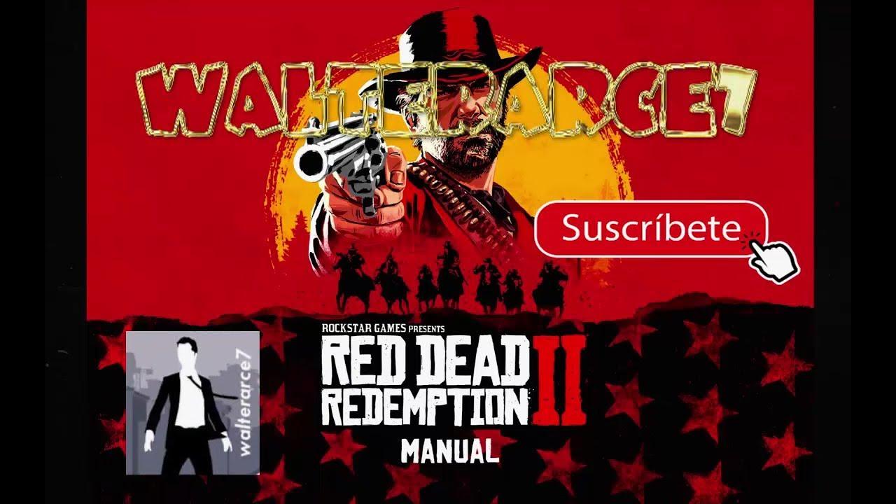 Red Dead Redemption 2 Manual De Juego Espanol Rdr2 Pdf Descarga