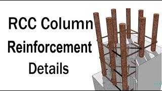 RCC Column Reinforcement details