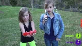 Kids smashing fruit - part 1 - fruitbaseball on sunday funday