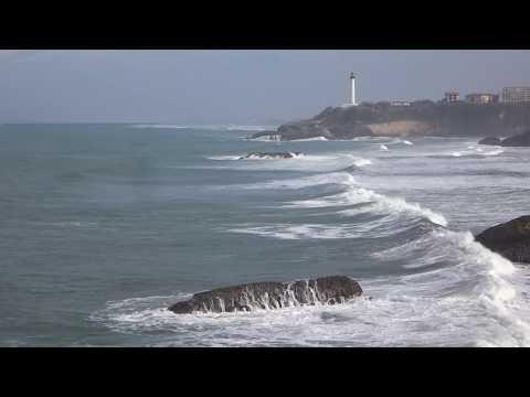 Travel memories... Little storm in Biarritz, Pyrénées Atlantiques, France