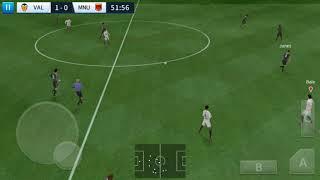 Valencia CF vs Manchester United Elite Cup | Dream League Soccer 2018