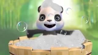Поздравление панды с Крещением