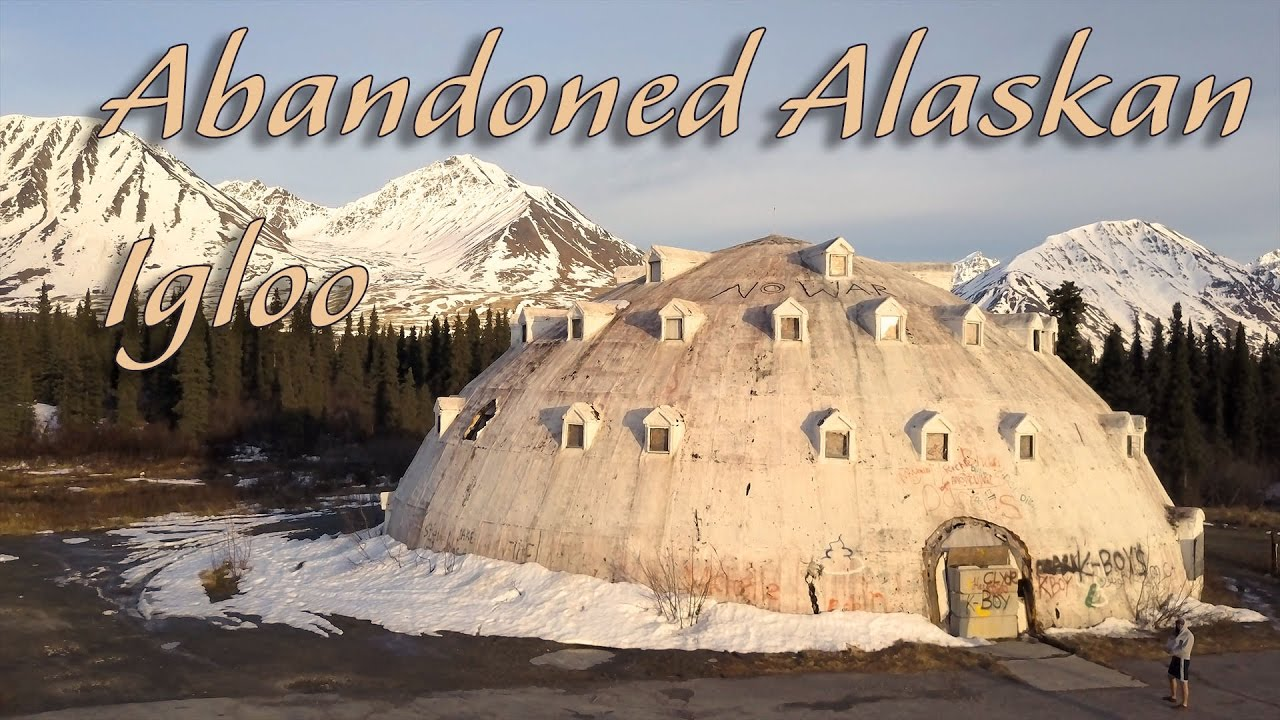 Elegant Abandoned Alaskan Igloo