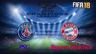 FIFA 18 Liga Mistrů:PSG-FC BAYERN/Let's Play CZ/SK