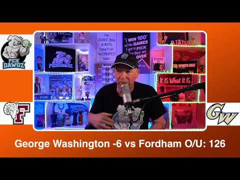 George Washington vs Fordham 3/3/21 Free College Basketball Pick and Prediction CBB Betting Tips