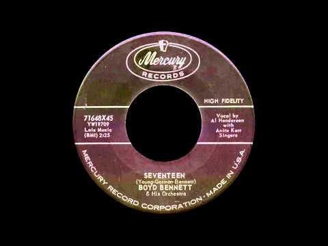 Cassette Aircheck: Boyd Bennett - Seventeen (Mercury version)
