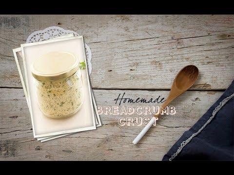 How To Make Homemade Breadcrumb Crust