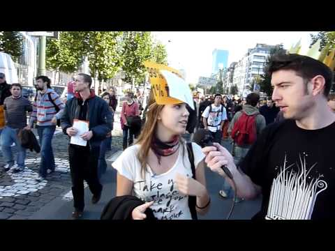 """""""Occupy Brussels"""" Interviews, 20111015"""