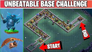 Most Difficult Base Challenge | Epic Tournament | Clash of Clans Lunar Update
