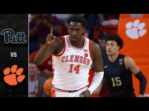 Pittsburgh vs. Clemson Basketball Highlights (2017-18)