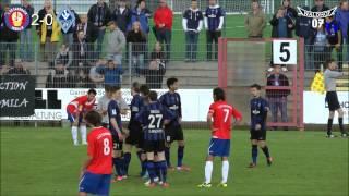 1. FC Eschborn vs. SV Waldhof Mannheim 07 38. Spieltag 12/13