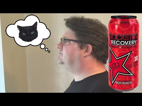 Rockstar Recovery Fruit Punch - Wreckless Eating Cleans Up The Channel - PG Woooo!!!!!!!!