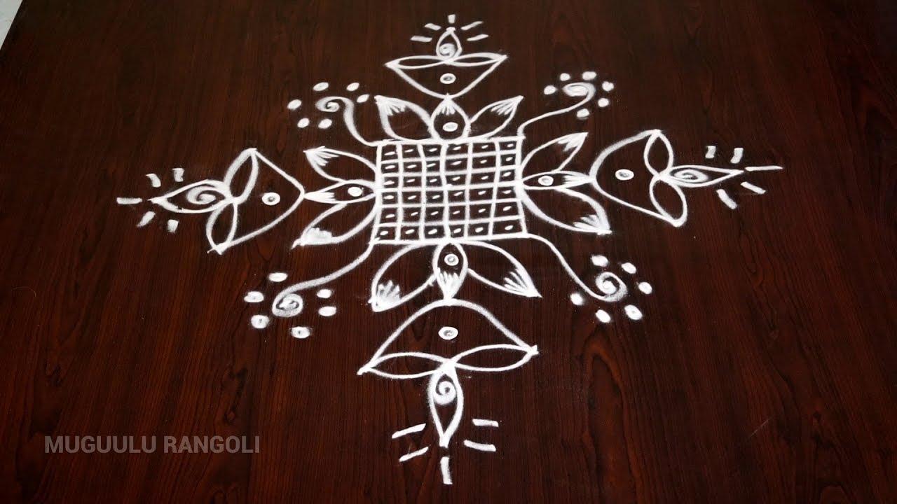 Rangoli simple simple easy rangoli simple rangoli kolam