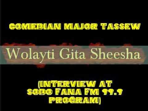 Comedian Major Tassew - Interview at Sodo Fana FM 99.9