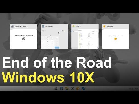 The Future of Windows 10X