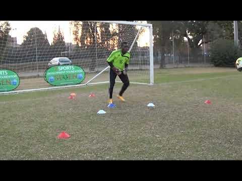 Goalkeeper Training Balance Diving & Footwork