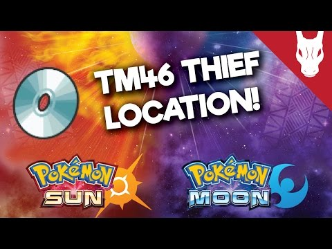 Where to Find the TM 46 Thief in Pokemon Sun and Moon