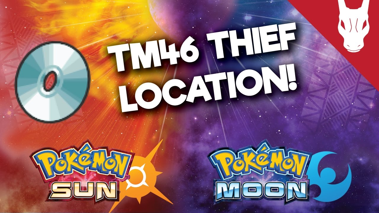 how to get thief in pokemon moon