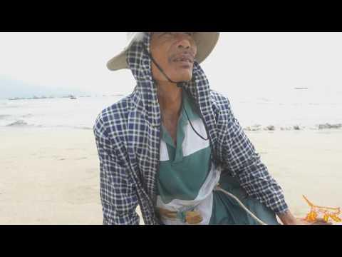 Nett fishing Da Nang, Vietnam