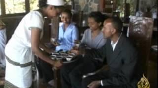 طقوس إعداد القهوة في إثيوبيا