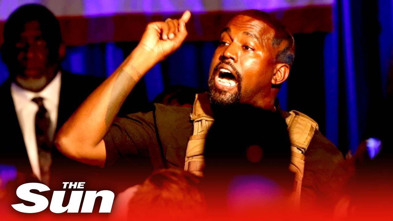 Kanye West Holds Campaign Rally In South Carolina For His ...
