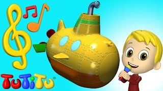 Songs & Karaoke for Children | Submarine | TuTiTu Songs