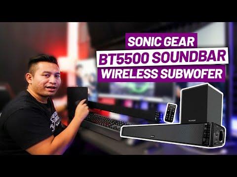 SonicGear Bluetooth 5.0 SoundBar Wireless Subwoofer Powerful