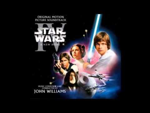 A New Hope Soundtrack: (8) Tales Of A Jedi Knight/Learn About The Force