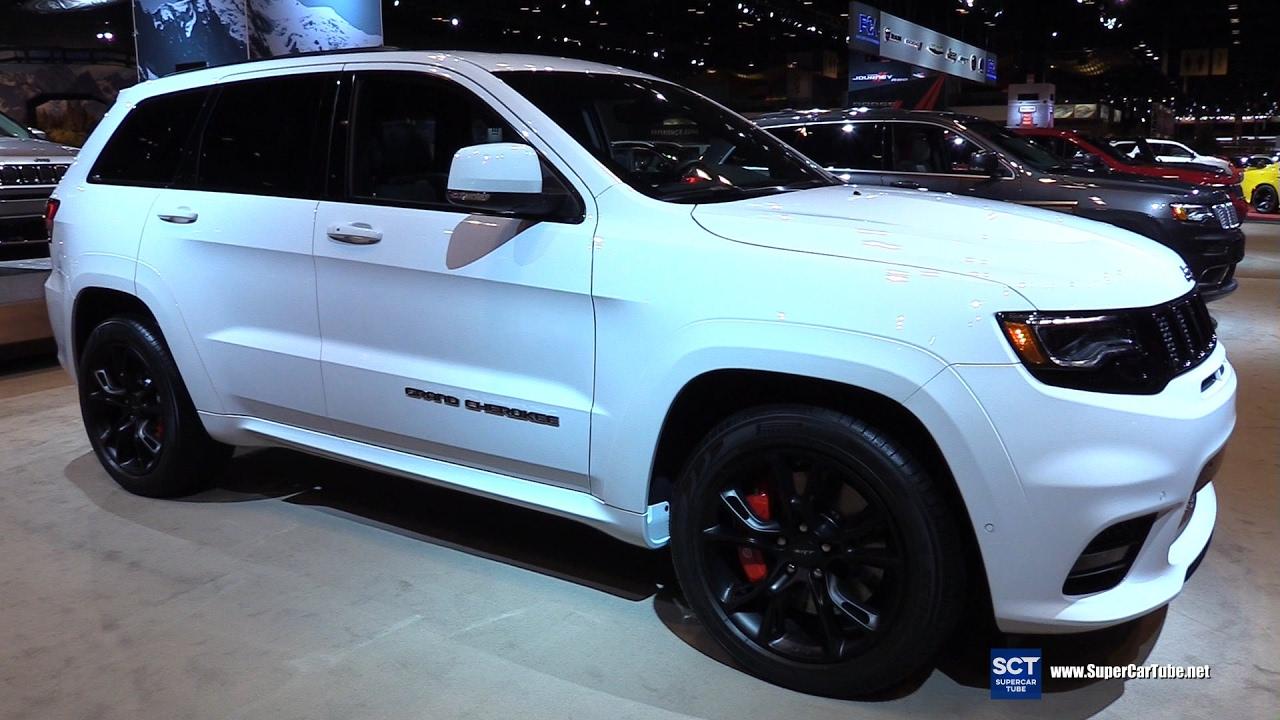Grand Cherokee Srt 2019 >> 2017 Jeep Grand Cherokee SRT - Exterior and Interior Walkaround - 2017 Chicago Auto Show - YouTube