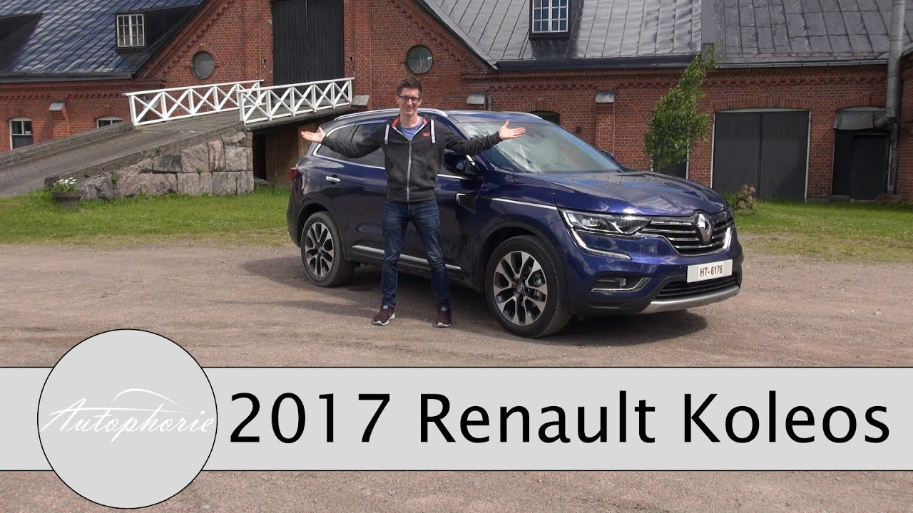 2017 renault koleos energy dci 130 fahrbericht plus x tronic automatik im check autophorie. Black Bedroom Furniture Sets. Home Design Ideas