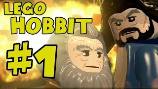Lego The Hobbit Walkthrough Part 1 - There And Back Again - Lego Hobbit The Video Game Gameplay