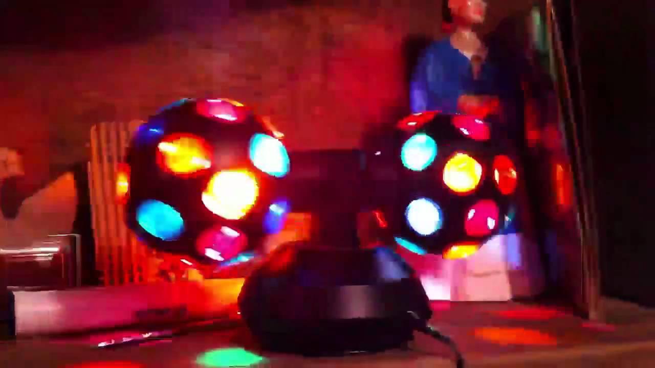 luces disco para uso casero youtube