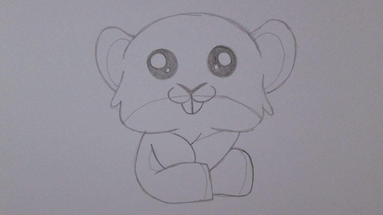 como desenhar um hamster youtube