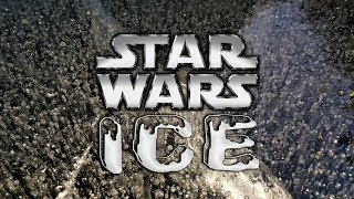Ice Fishing Lakes Region New Hampshire On Star Wars Ice - HUGE Largemouth and Smallmouth Bass