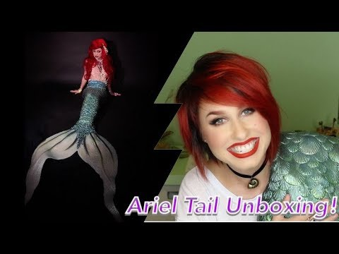 Mermaid Storytime and THE ULTIMATE MER-MAIL!!! (Mermaid Kariel Silicone Ariel Tail Unboxing!)