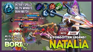 Natalia 5644 Match 86.7% WinRate with Petrify Spell? ʙᴏʀɪღ a Forgotten Legend of Natalia? ~ MLBB
