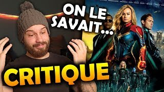 CAPTAIN MARVEL - CRITIQUE