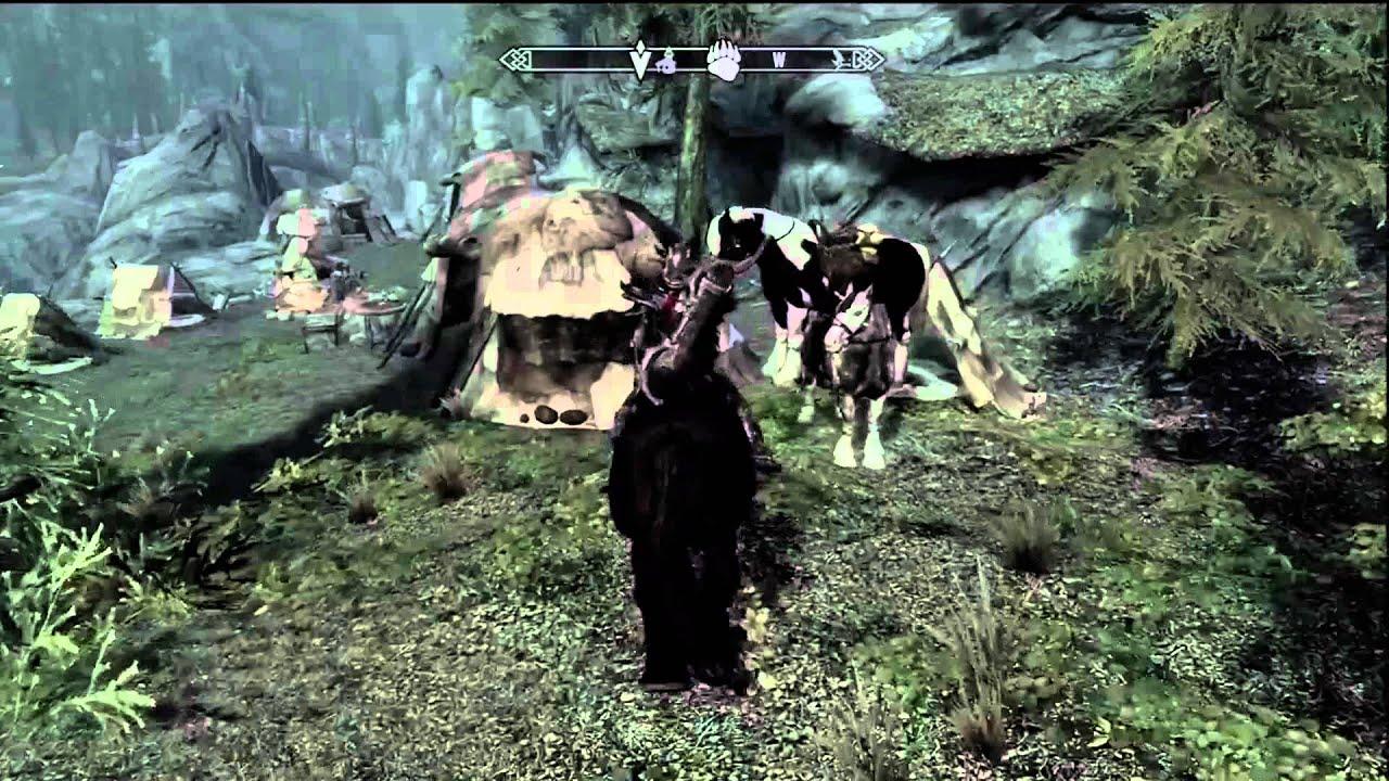 Skyrim Horse Sex - YouTube