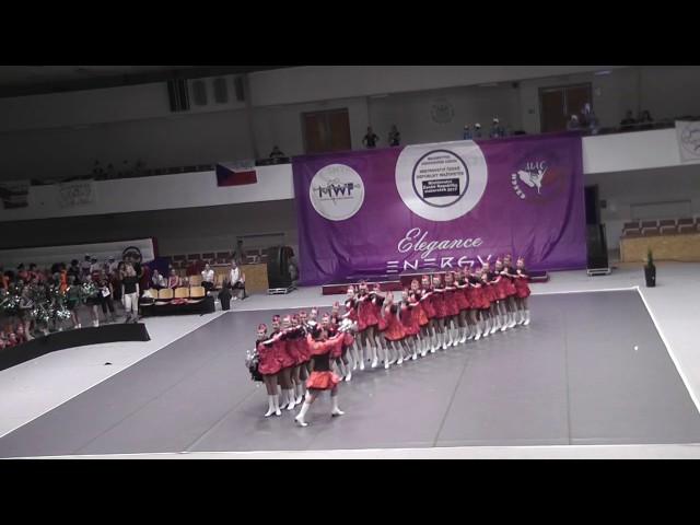 AP klub Brušperk - Teens / Finále MČR mažoretek 2017 Brno - CLASSIC POM juniorky