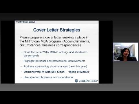mit sloan optional essay tips